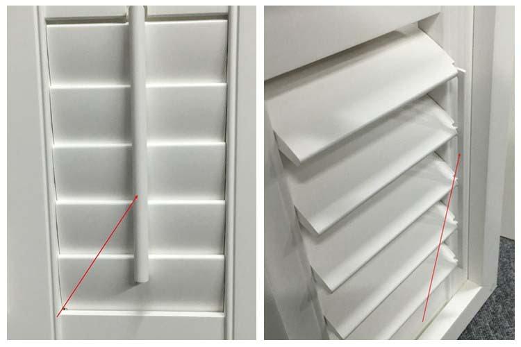 Rodzaje sterowania lamelami Shutters