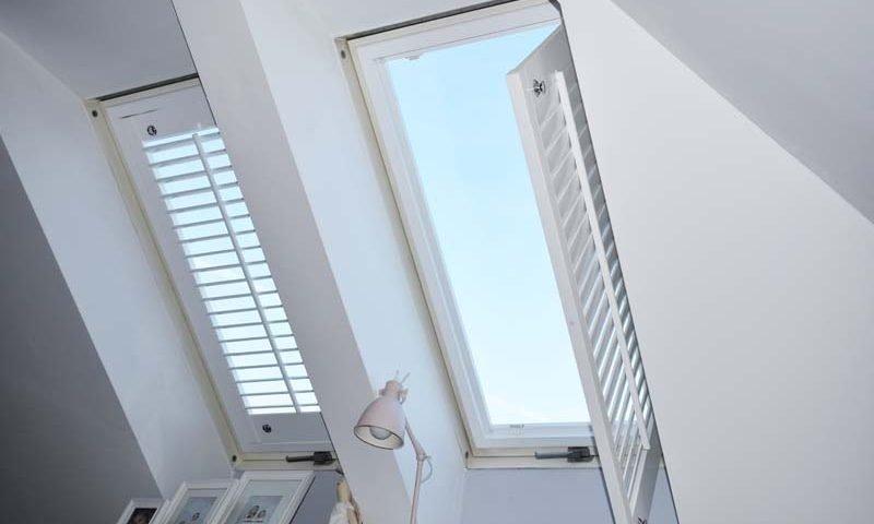 Shutters okno dachowe