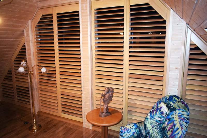 Okiennice drewniane wewnętrzne