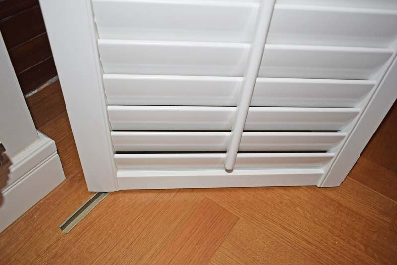 Shutters System Track