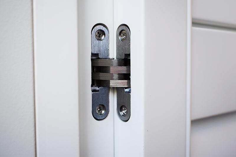 Ukryte zawiasy shutters